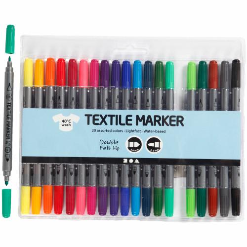 Colortime Textiltusch, standardfärger