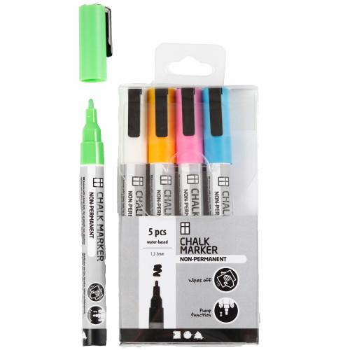 Colortime Chalk markers starka färger