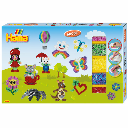 HAMA Midi giant gift box 6000 pcs.
