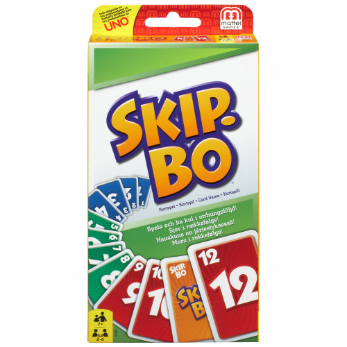 Mattel Games Skip-Bo Card Game