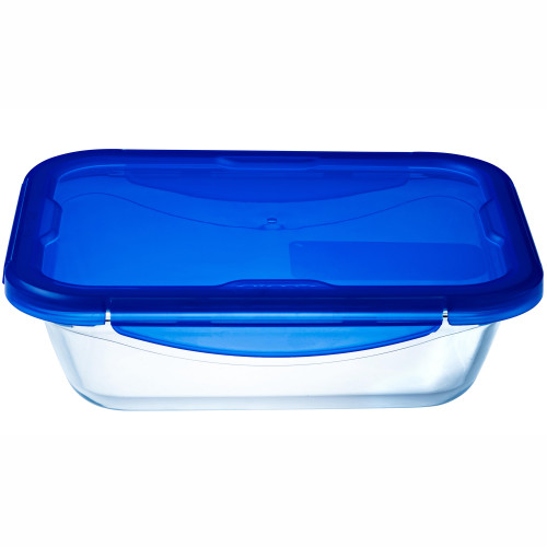 Pyrex Medium form med med snäpplock