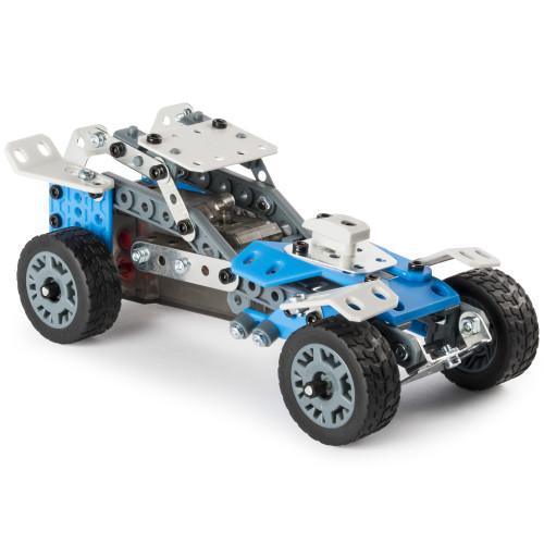 Meccano 10-Model Set - Motorized Car