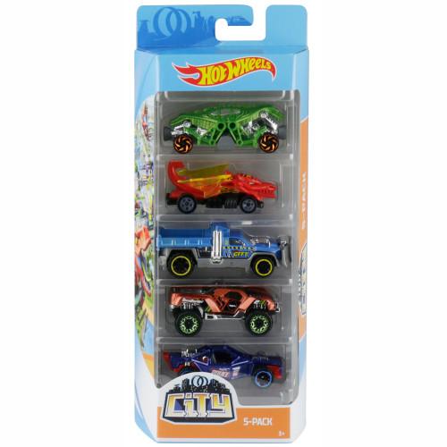 Hot Wheels 5-pack