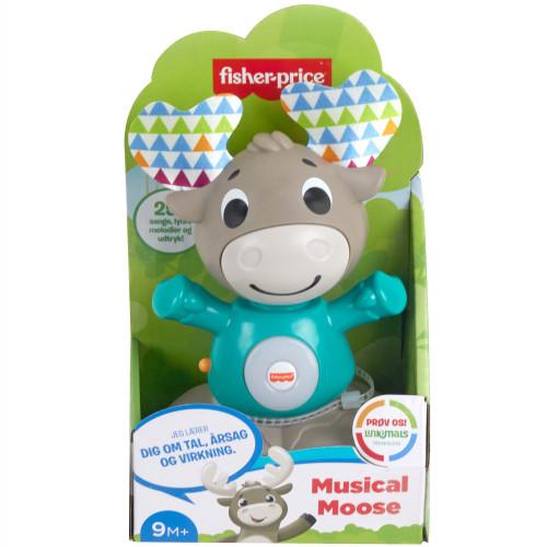 Fisher Price Linkimals Musical Moose SE