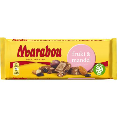 Marabou Frukt & Mandel 100 g