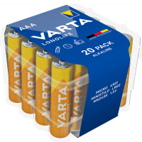 VARTA Longlife AAA / LR03 Batteri 20