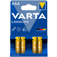 VARTA Longlife AAA / LR03 Batteri 4-