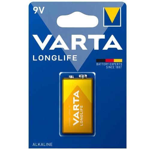 VARTA Longlife 9V Batteri 1-pack