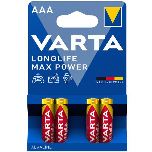VARTA Longlife Max Power AAA / LR03
