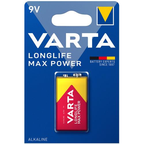 VARTA Longlife Max Power 9V Batteri