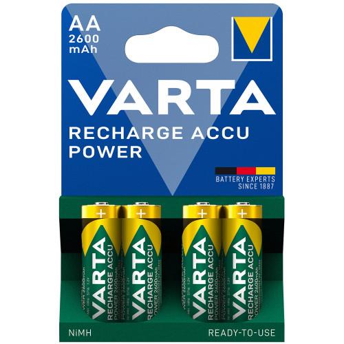 VARTA Laddningsbart batteri AA 2600