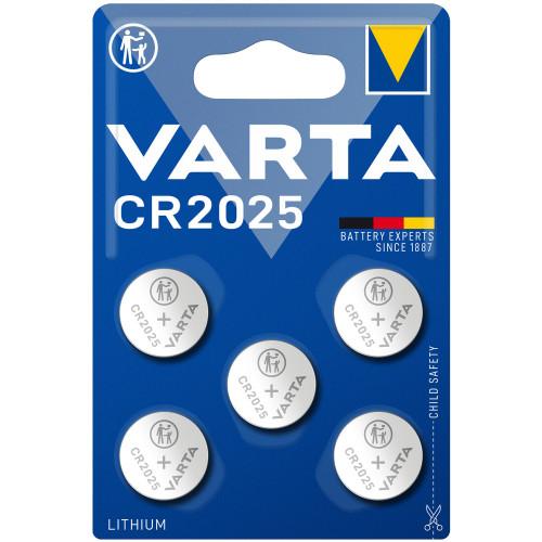 VARTA CR2025 3V Lithium Knappcellsba