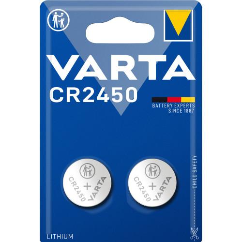 VARTA CR2450 3V Lithium Knappcellsba