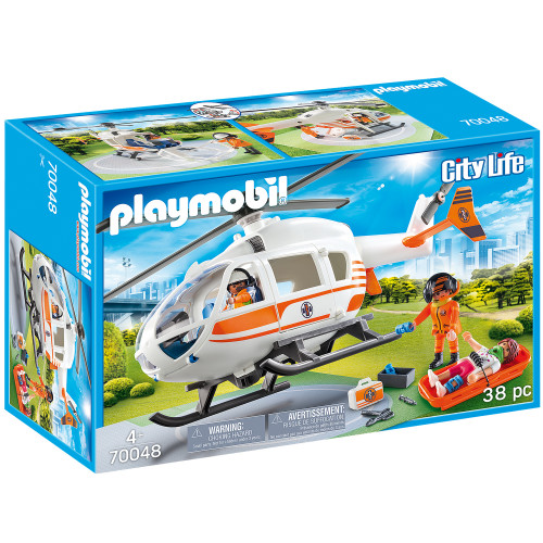 Playmobil Räddningshelikopter