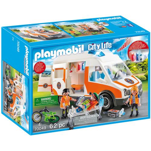 Playmobil Ambulans med blinkande ljus