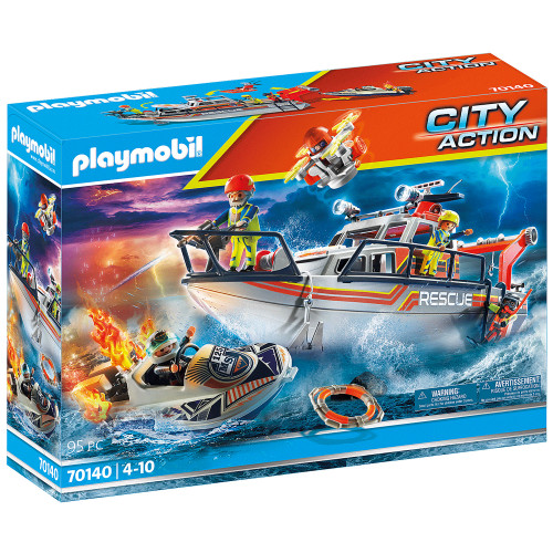 Playmobil Firefighting operation with re