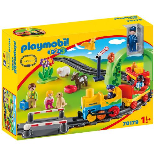 Playmobil Min första tågbyggsats