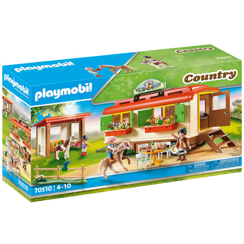 Playmobil Ponnygård övervakningsfordon