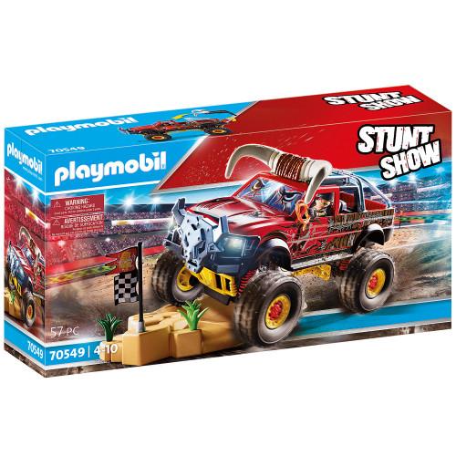 Playmobil Stuntshow monstertruck med hor