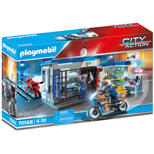 Playmobil Polis: Rymning från fängelset