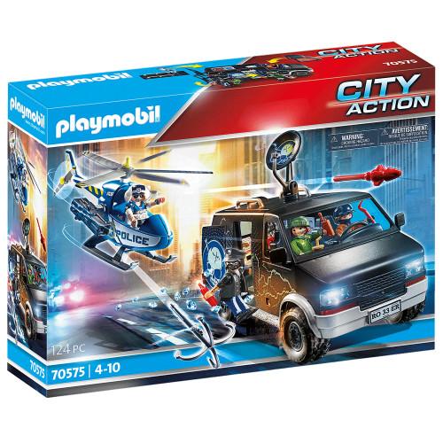 Playmobil Polishelikopter: Jakten på fly