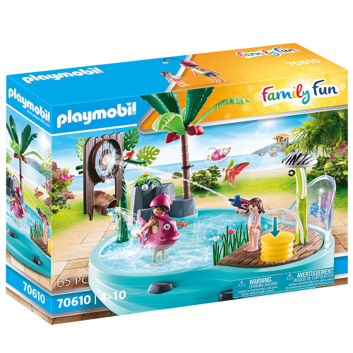 Playmobil Small Pool with Water Sprayer