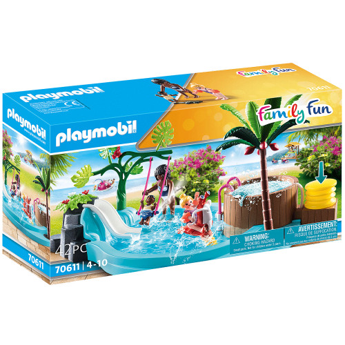 Playmobil Children's Pool with Slide
