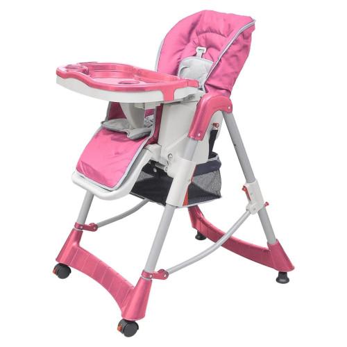 Dream Living Barnstol Deluxe höjdjusterbar rosa