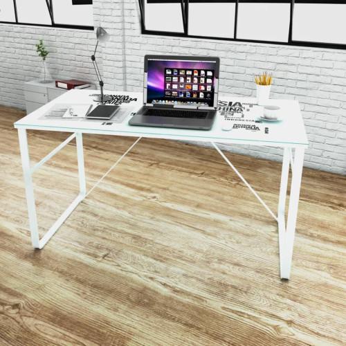 vidaXL Skrivbord med världskarta 120 x 60 x 75 cm