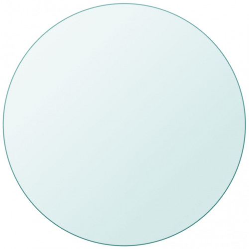 vidaXL Bordsskiva härdat glas rund 300 mm