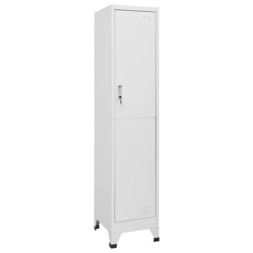 vidaXL Klädskåp för omklädningsrum 38x45x180 cm