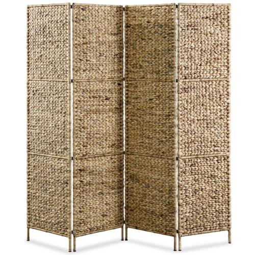 Dream Living Rumsavdelare 4-paneler vattenhyacint 154x160 cm
