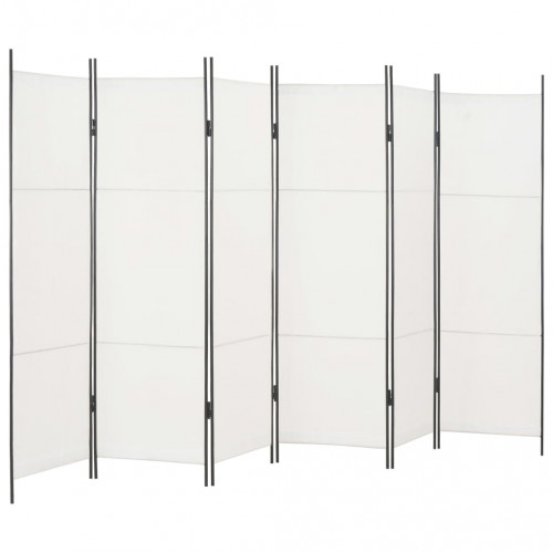 Dream Living Rumsavdelare 6 paneler vit 300x180 cm