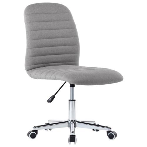 Dream Living Snurrbar kontorsstol ljusgrå tyg