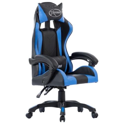 Dream Living Racingstol blå konstläder