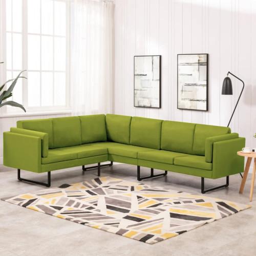 Dream Living Hörnsoffa grön tyg