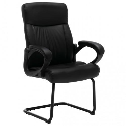 Dream Living Fribärande kontorsstol svart konstläder