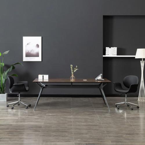 Dream Living Snurrbar kontorsstol svart konstläder