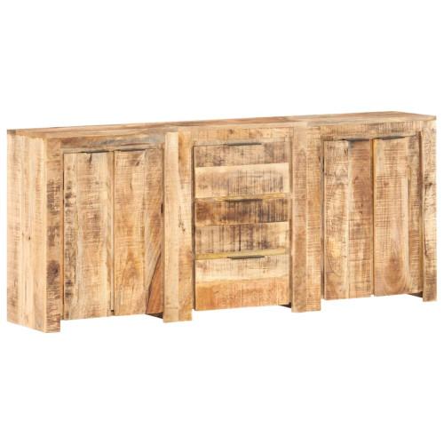 vidaXL Skänk med 3 lådor och 4 dörrar massivt mangoträ