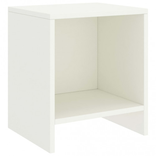 Dream Living Sängbord vit 35x30x40 cm massiv furu
