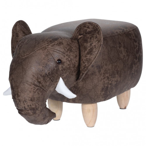 Home&Styling Home&Styling Pall 64x35 cm elefant