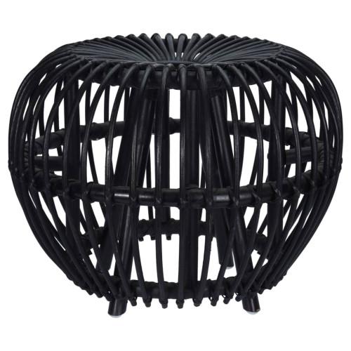 Home&Styling Home&Styling Fotpall Brussel kuburotting svart