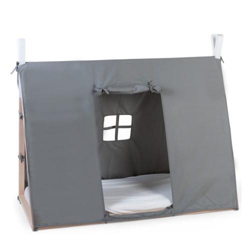 CHILDHOME CHILDHOME Sängöverdrag tipi 70x140 cm grå