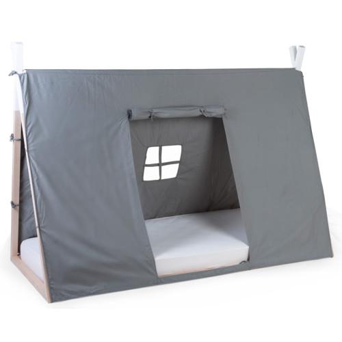CHILDHOME CHILDHOME Sängöverdrag tipi 90x200 cm grå
