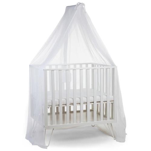CHILDHOME CHILDHOME Sänghimmelsstativ med myggnät vit