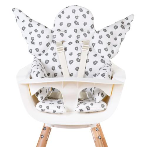 CHILDHOME CHILDHOME Universell sittdyna ängel bomull jersey leopard