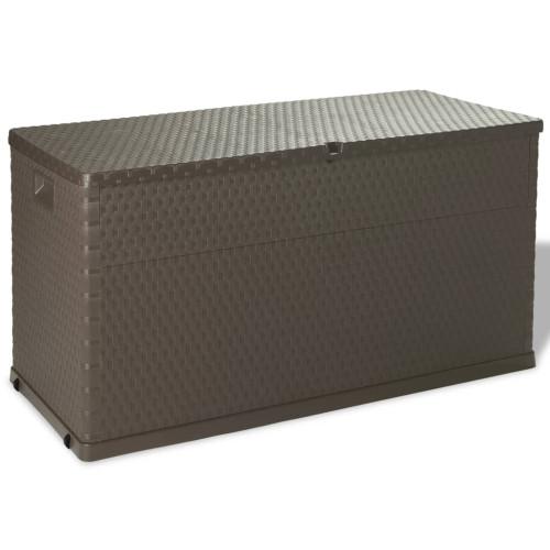 vidaXL Dynbox 120x56x63 cm brun