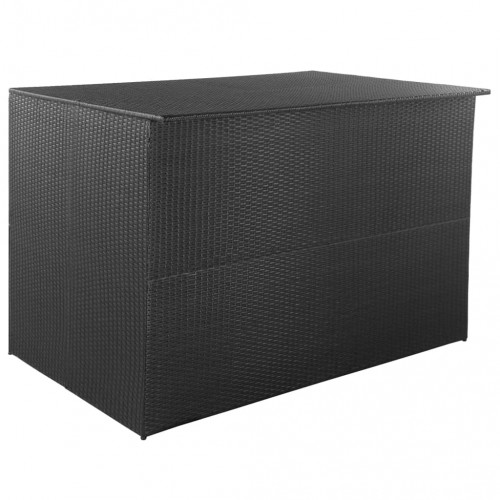 vidaXL Dynbox 150x100x100 konstrotting svart