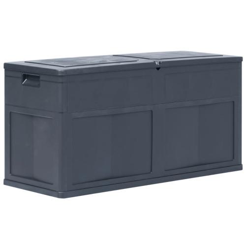 vidaXL Dynbox 320 liter svart