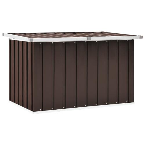 vidaXL Dynbox brun 109x67x65 cm